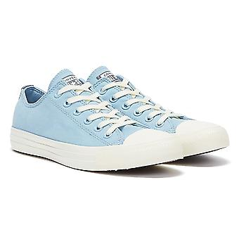 Converse All Star Peached Perfect Womens Light Blue / White Trainers