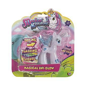 Unicorn Magical Uni-Glow Light Up Figure (White)