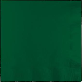 Ln 10/50Ct 3P Hunter servilleta verde
