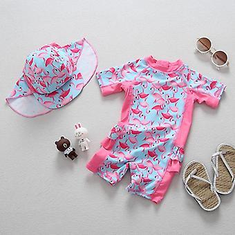 Baby Swimwear Sleeves Uv Strój kąpielowy