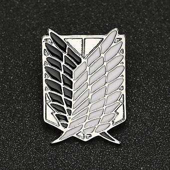 Broche Pin Wings Of Liberty Freedom, Scout Regiment, Legion Survey Recon Corp,