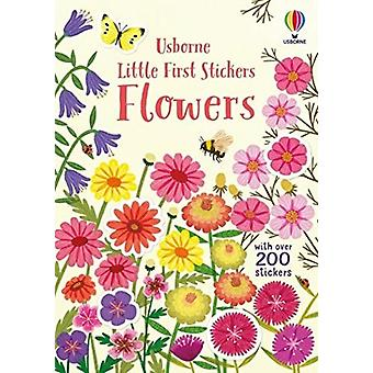 Little First Stickers Flowers por Caroline Young & Illustrated por Jean Claude