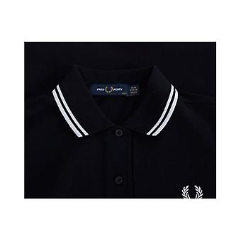 Fred Perry Authentics Twin Tipped Pique Logo Polo Dress