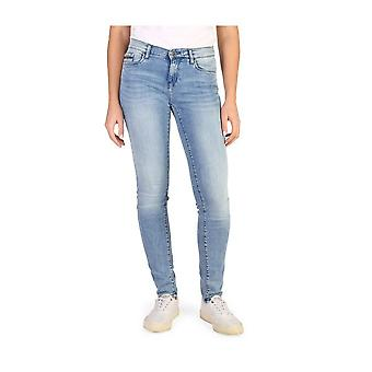Calvin Klein -BRANDS - Vaatteet - Farkut - J20J204983-918-L32 - Naiset - cornflowerblue - 26