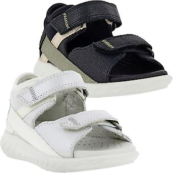 ECCO Infants Kids SP.1 Lite Leather Adjustable Summer Beach Thongs Sandals