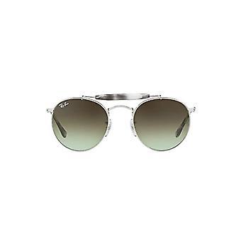 راي بان 3747، نظارات شمسية للجنسين والكبار، رمادي (فضي/ أخضر تدرج)، 50