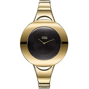 Storm Centro - Gold and black watch.