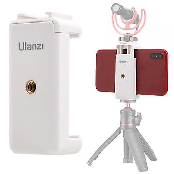 Multifunction Phone Mount Holder Clamp, Clip With Cold Shoe, Anti-slip, Mic Led