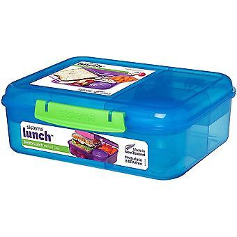 FengChun 41690 Bento Lunch Box mit Obst/Joghurt Topf, 1,65 L - verschiedene Farben