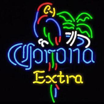 Corona Extra Parrot Bird Sticlă Neon Light Sign