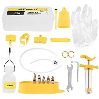 Fiets hydraulische schijfrem minerale olie bleed kit set