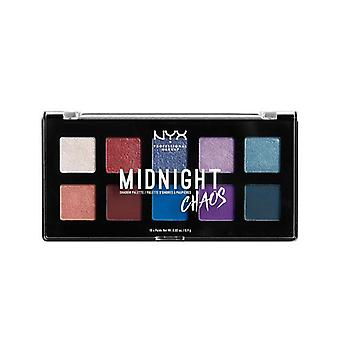 NYX Professionel Makeup Midnight Chaos Shadow Palette