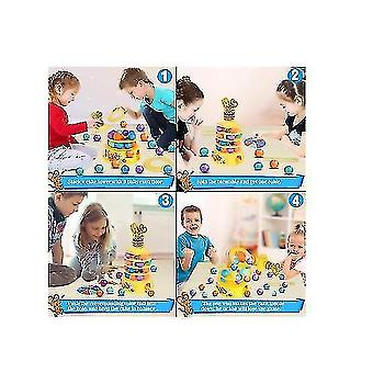 Tower Stacking Fun Board Game For Kids 4-6 Adults Balance Suspend Family Games
