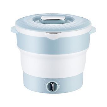 للطي الصغيرة وعاء ساخن المنزلية المصغرة الدوارة الكهربائية الغليان وعاء متعدد الوظائف الصغيرة وعاء كهربائي ساخن جديد