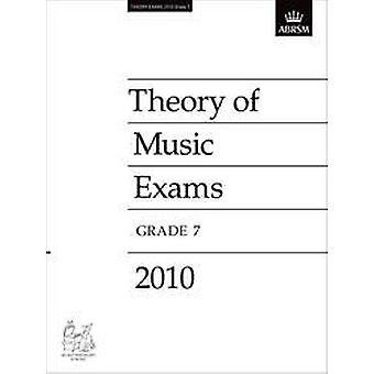 ABRSM Theory Paper Grade 7 (2010)