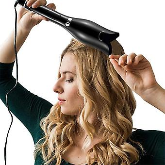 Multi-automatic hair curler hair curling iron lcd ceramic rotating hair waver magic curling wand irons hair styling tools