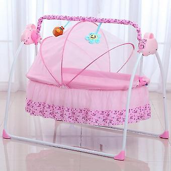 音楽と多機能折りたたみ式の新生児電気の精神の揺りかごのバシネットベッド