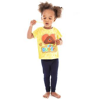 Hey Duggee Piger Glitter Heart T-shirt