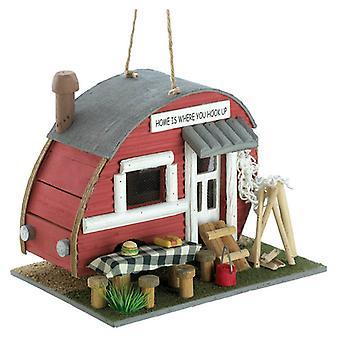 Summerfield Terrace Wood Vintage Trailer Bird House, Pack of 1