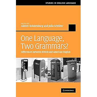 Ett språk, to grammatikker?: Forskjeller mellom britisk og amerikansk engelsk