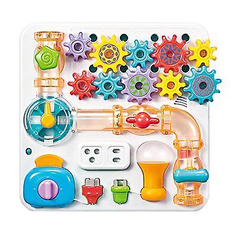 Voor Baby Latches Deuren Stem Board Baby Montessori Sensory Activity Board Speelgoed games 