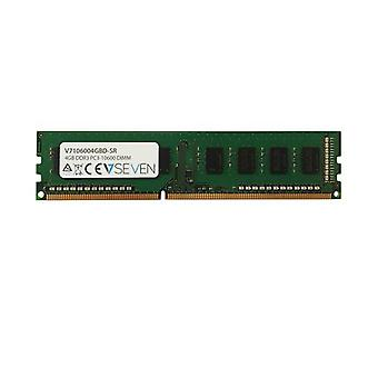 V7 V7106004GBD-SR, 4 Gt, 1 x 4 Gt, DDR3, 1333MHz, 240-nastainen DIMM