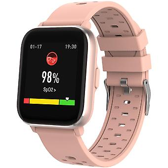Smartwatch with temp, oxygen and heart rate