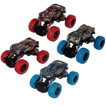 Toy cars fun kids pull back monster truck x 1 pack