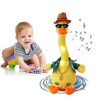 Plüschtiere Stofftier Plüschtiere Sprechende Ente für Kinder klingende Tiere Urlaubsgeschenk
