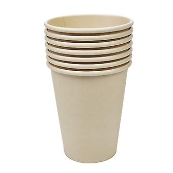 Set Of 40 Paper Cups, Coffee Cup For Serving Coffee, Tea, Hot And Cold Drinks, 270 Ml