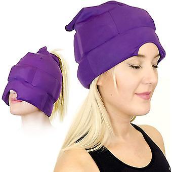 Kopfschmerzen und Migräne Linderung Cap Kopfschmerzen Eismaske