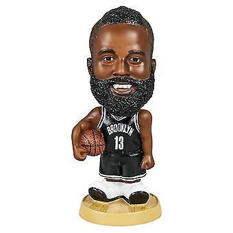 Caraele James Harden Figurine d'action Statue Bobblehead Basketball Doll Décoration