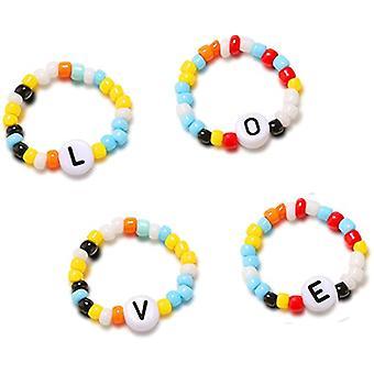 Love Letter Beaded Ring