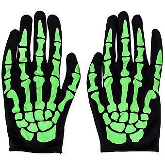 Skelett Handschuhe Halloween Kostüm Party Cosplay Handschuhe voller Finger Mumie Geist Handschuhe