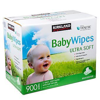 Kirkland signatur Baby vådservietter Ultra blød pakke med 900