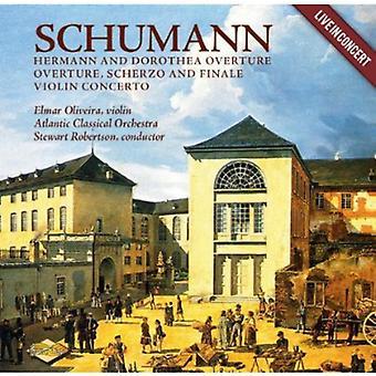 シューマン - シューマン: ヘルマン ・ ドロテア序曲;序曲、スケルツォ ・ フィナーレ;ヴァイオリン協奏曲 [CD] USA 輸入