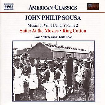 J.P. Sousa - John Philip Sousa: Music for Wind Band, Vol. 2 [CD] USA import