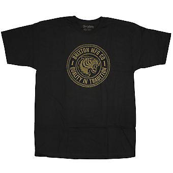 Camiseta negra de Brixton Cambridge
