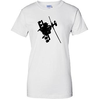Apache helikopter flyger - Awesome militära Chopper - damer T Shirt