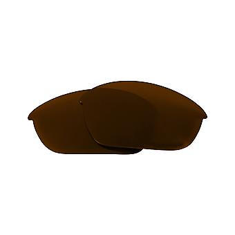 Polarized Replacement Lenses for Oakley Half Jacket Sunglass Brown Anti-Scratch Anti-Glare UV400 by SeekOptics