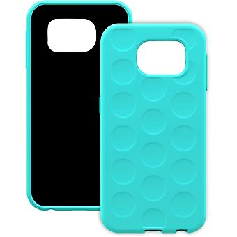 Trident Krios Bubble Wrap Case for Samsung Galaxy S6 - Aqua