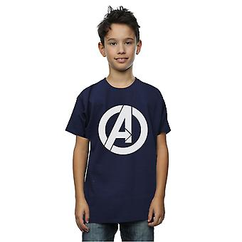 Marvel Boys Avengers Simple logo T-paita