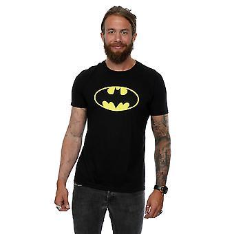 باتمان شعار تي شيرت دي سي كوميكس الرجال