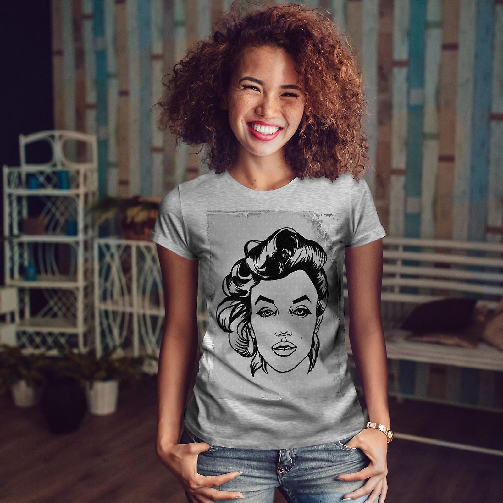La légende célébrité Marilyn GreyT-chemise femme | Wellcoda