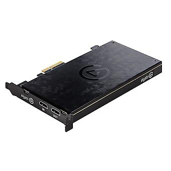 Elgato jeu Capture 4K 60 Pro, carte d'acquisition 4K à 60 images/s avec technologie de latence ultra faible pour l'enregistrement Pro PS4 et Xbox X un gameplay, PCIe x4