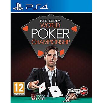 Pure Holdem Wereldkampioenschappen Poker (PS4)-nieuw