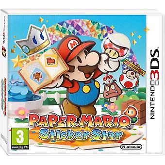 Paper Mario Sticker Star (Nintendo 3DS) - New