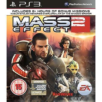 Mass Effect 2 (PS3) - New