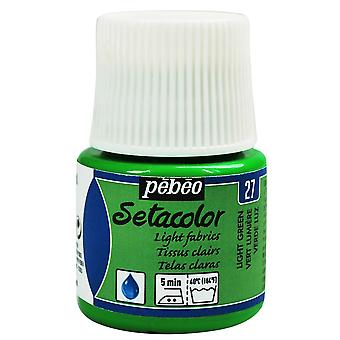 45ml de peinture PEBEO Setacolor tissus légers
