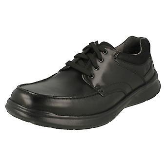Herren Clarks Casual Schuhe Cotrell Rand